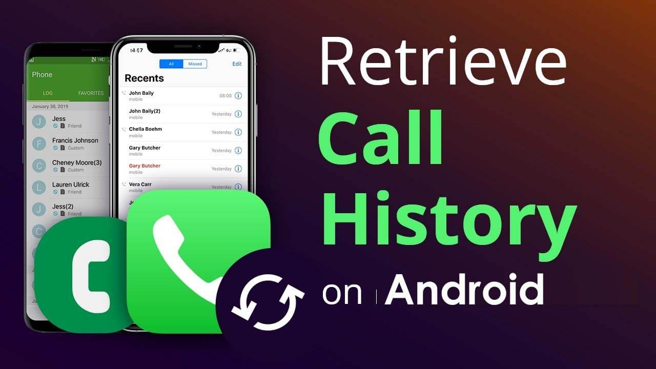 Recover Call History On Android