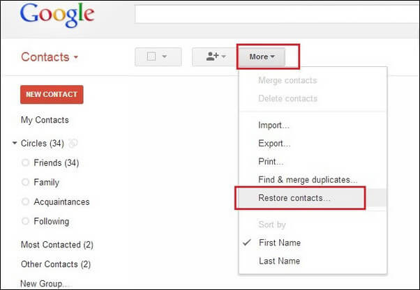 gmail contacts2