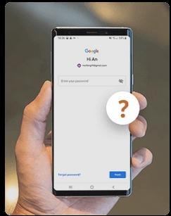 unknonw google password