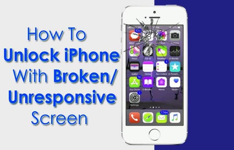 How To Unlock iPhone With Broken/Unresponsive Screen